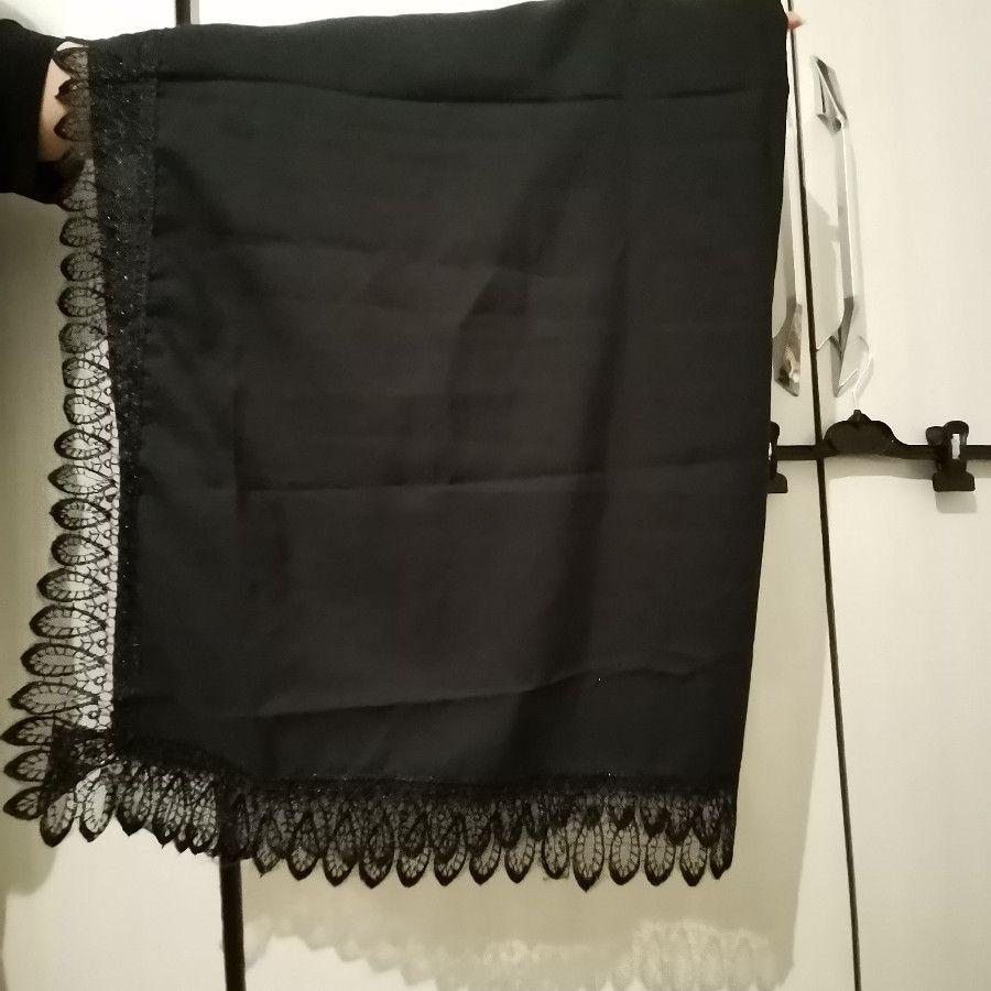 روسری چهارگوش مشکی