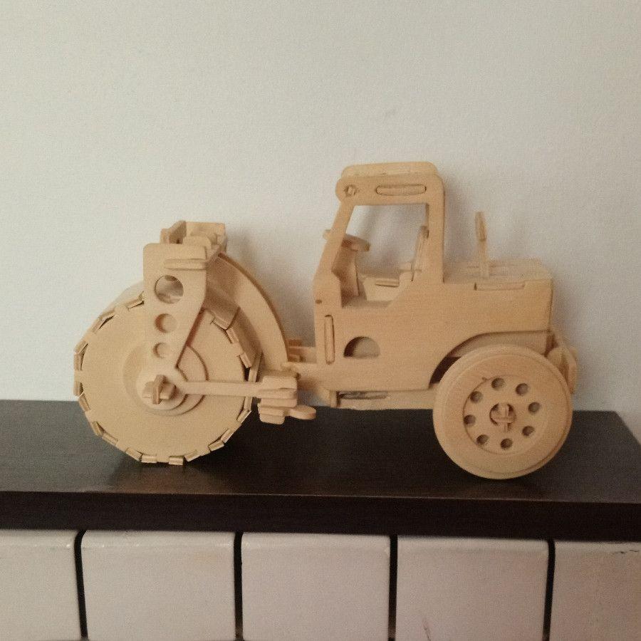 ماکت ماشین راهسازی