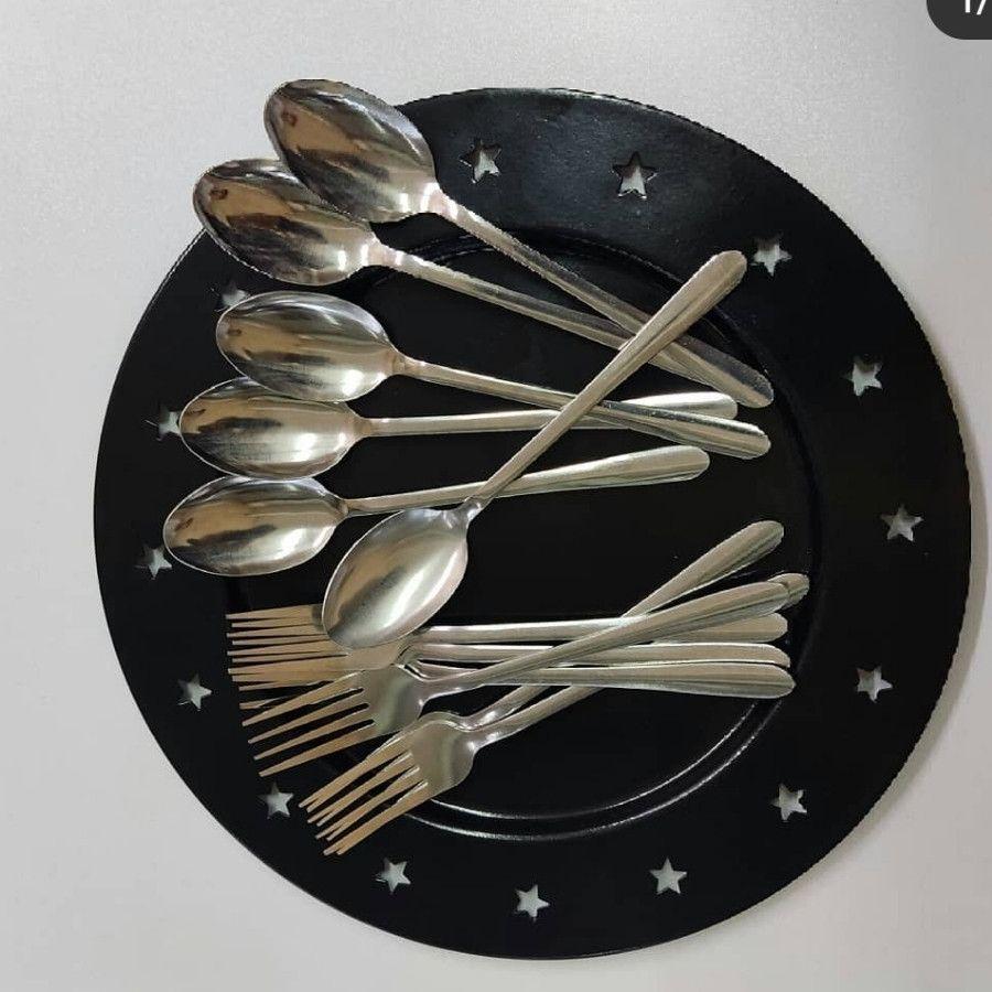 قاشق چنگال غذا  شش نفره