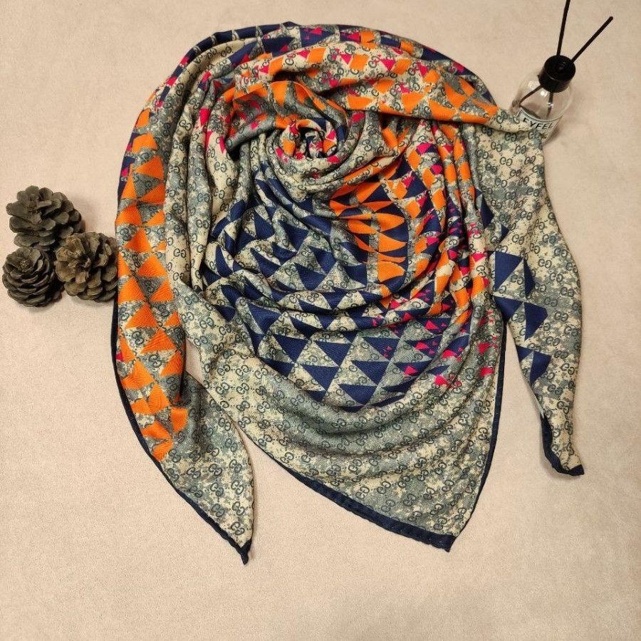 روسری نخی ژاکارد پاییزه