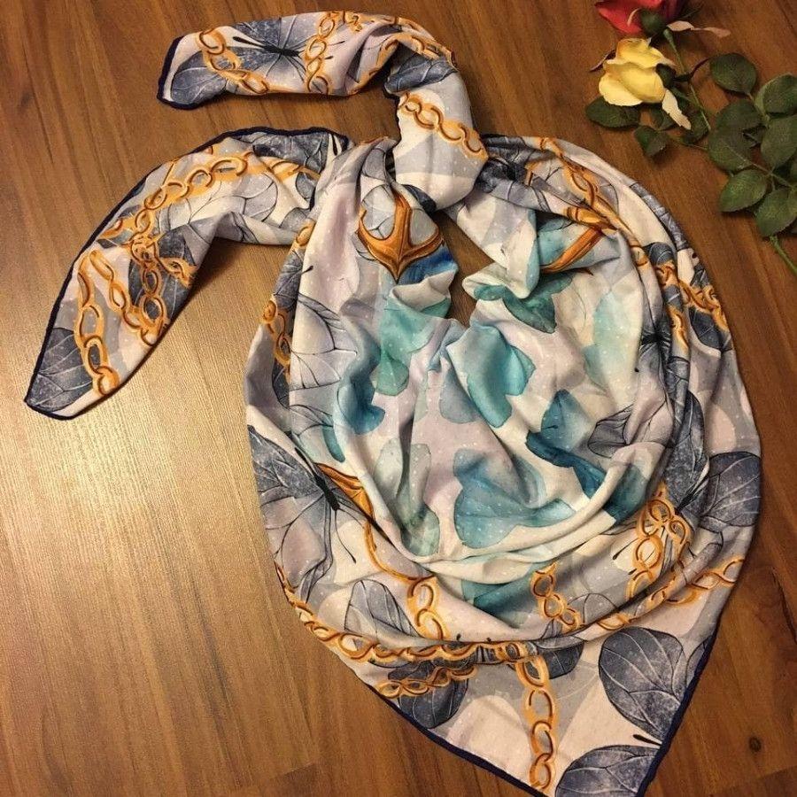 روسری نخ پاییزی